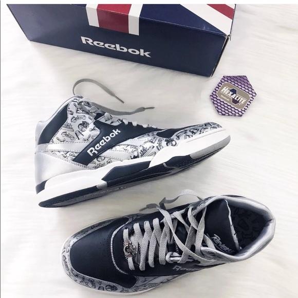 126f4e0d9cfa18 Reebok Monopoly reverse jam mid sneakers. M 5b3d766c34a4ef5862e6c5dd